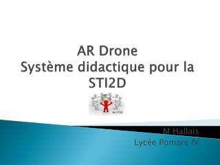 AR Drone Système didactique pour la STI2D