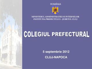 5 septembrie 2012 CLUJ-NAPOCA