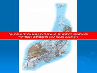 CONSORCIO DE SEGURIDAD, EMERGENCIAS, SALVAMENTO, PREVENCIÓN  Y EXTINCIÓN DE INCENDIOS DE LA ISLA DE LANZAROTE