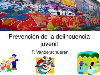 Prevenci�n de la delincuencia juvenil
