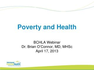 Poverty and Health
