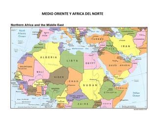 MEDIO ORIENTE Y AFRICA DEL NORTE