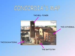 CONCORDIA'S MAP