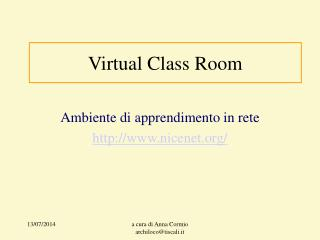 Virtual Class Room