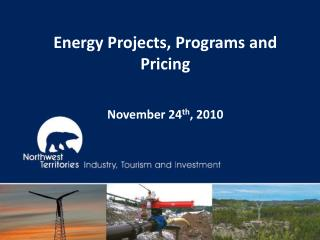 Energy Projects, Programs and Pricing November 24 th , 2010