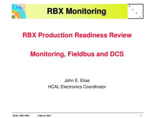 RBX Monitoring