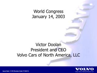 World Congress January 14, 2003