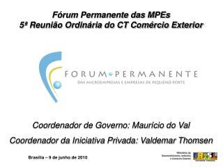Brasília – 9 de junho de 2010
