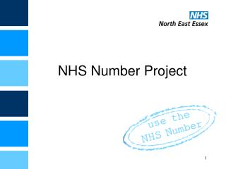 NHS Number Project