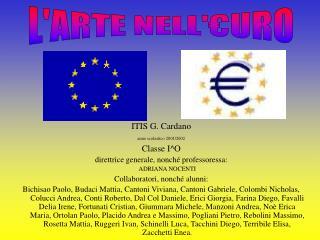ITIS G. Cardano anno scolastico 2001/2002 Classe I^O