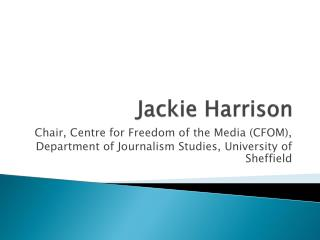 Jackie Harrison
