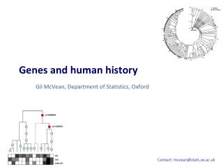 Genes and human history