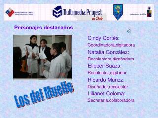 Cindy Cortés: Coordinadora,digitadora Natalia González: Recolectora,diseñadora Eliecer Suazo: Recolector,digitador Rica