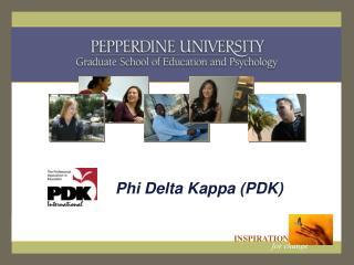 Phi Delta Kappa (PDK)