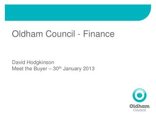 Oldham Council - Finance