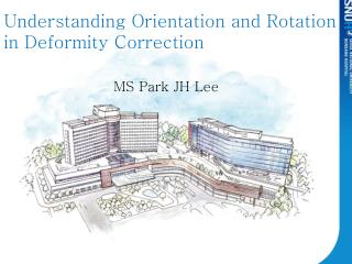 Understanding Orientation and Rotation in Deformity  C orrection