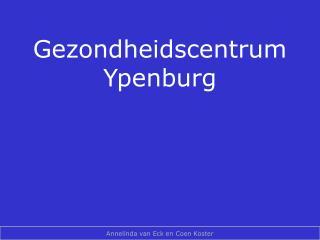 Gezondheidscentrum Ypenburg