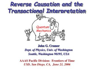Reverse Causation and the Transactional Interpretation