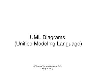 UML Diagrams  ( Unified Modeling Language)
