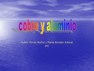 Rubén Porras Muñoz y Marta Búrdalo Antoral 3ºC