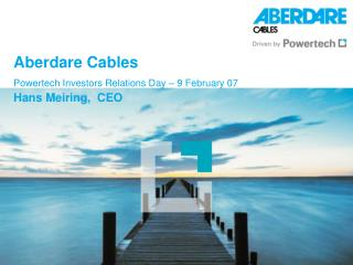 Aberdare Cables Powertech Investors Relations Day