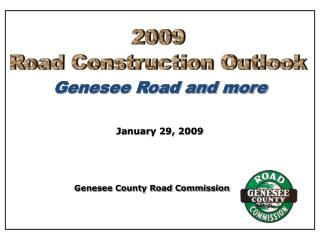 Genesee Road and more