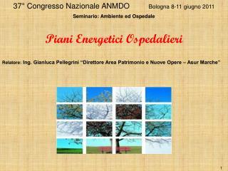 37° Congresso Nazionale ANMDO          Bologna 8-11 giugno 2011