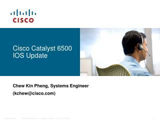 Cisco Catalyst 6500 IOS Update