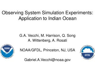 Observing System Simulation Experiments: Application to Indian Ocean
