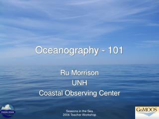 Oceanography - 101