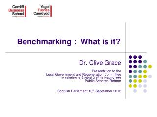 Benchmarking :  What is it?