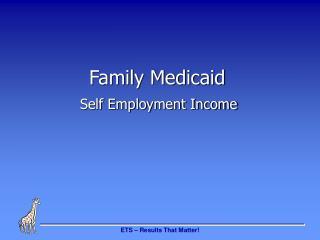 Family Medicaid