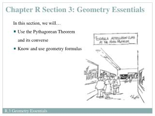 Chapter R Section 3: Geometry Essentials