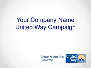 Your Company Name United Way Campaign