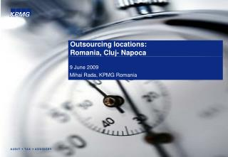 Outsourcing locations:   Romania, Cluj- Napoca