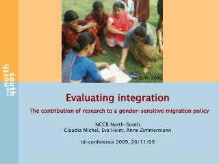 Evaluating integration The contribution of research to a gender-sensitive migration policy
