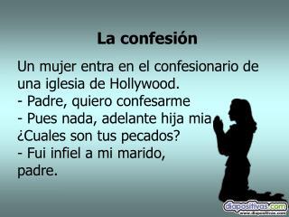 La confesi�n