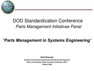 ' Parts Management in Systems Engineering'
