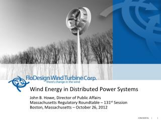 US Wind Energy Faces an Enormous Opportunity