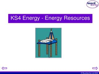 KS4 Energy - Energy Resources