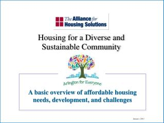 A basic overview of affordable housing needs, development, and challenges