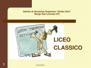 """Istituto di Istruzione Superiore """"Giotto Ulivi"""" Borgo San Lorenzo (FI)"""