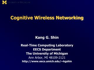 Cognitive Wireless Networking