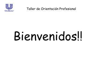 Bienvenidos!!