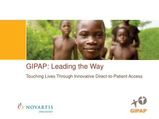 GIPAP: Leading the Way