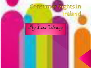 Consumer Rights In Ireland