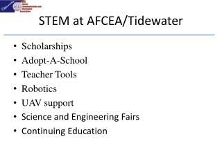 STEM at AFCEA/Tidewater