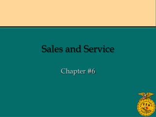 Sales and Service