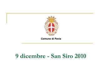 9 dicembre - San Siro 2010