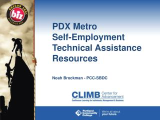 PDX Metro  Self-Employment Technical Assistance Resources